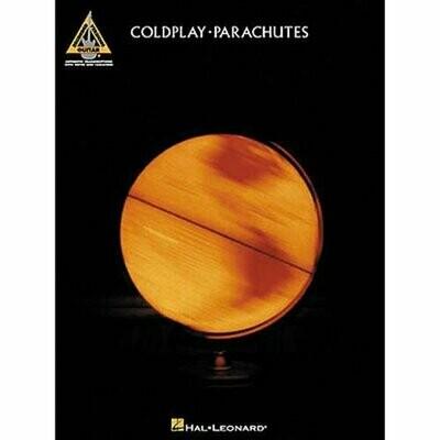 COLDPLAY PARACHUTES ALBUM TAB BOOK