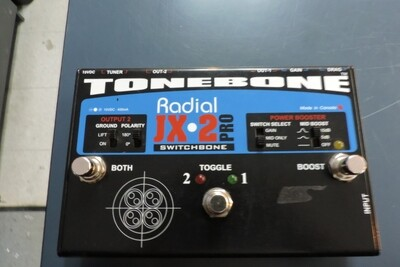 RADIAL JX2 SWITCHBONE ABY/BOOSTER PEDAL (usagé)