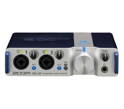 ZOOM TAC-2R 2 CH THUNDERBOLT AUDIO INTERFACE w/THUNDERBOLT CABLE