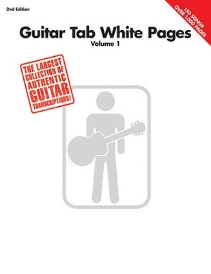 HAL LEONARD 690471 WHITE PAGES /EL.GT VOL 1