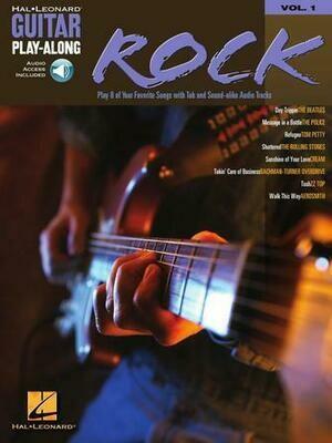 HAL LEONARD GUITAR PLAY ALONG VOLUME 1 BOOK/CD - ROCK