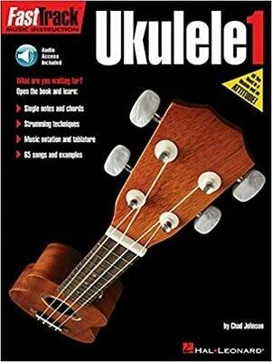 FAST TRACK 119487 MÉTHODE UKULELE (FR) LIVRE 1 /CD