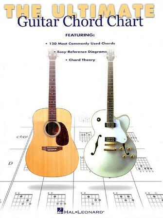 HAL LEONARD 695347 The ultimate guitar chord charts
