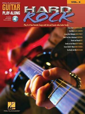 HAL LEONARD GUITAR PLAY-ALONG VOLUME 3 BOOK/CD - HARD ROCK