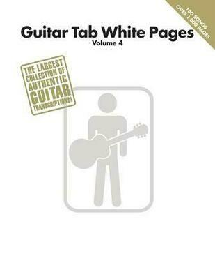 HAL LEONARD WHITE PAGES /EL.GT VOL 4
