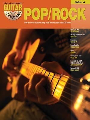HAL LEONARD GUITAR PLAY-ALONG VOLUME 4 BOOK/CD - POP/ROCK