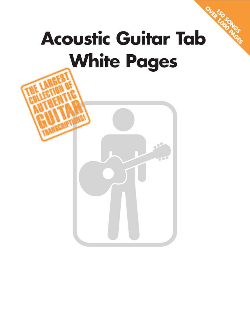 HAL LEONARD 699590 WHITE PAGES /ACOUSTIC GT