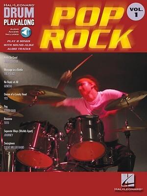 HAL LEONARD DRUM PLAY-ALONG VOLUME 1 BOOK/ONLINE AUDIO - POP ROCK