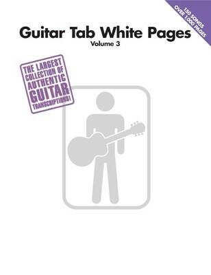 HAL LEONARD WHITE PAGES /EL.GT VOL 3