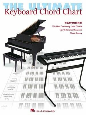 HAL LEONARD 220016 The ultimate keyboard chord charts.