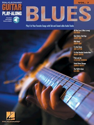 HAL LEONARD GUITAR PLAY-ALONG VOLUME 7 BOOK/CD - BLUES