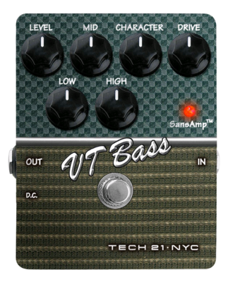 TECH 21 SANSAMP VT BASS (V2)