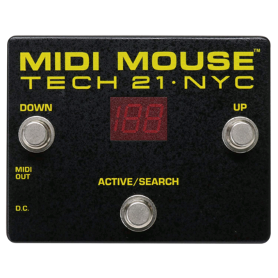 TECH 21 MIDI MOUSE FOOT CONTROLLE