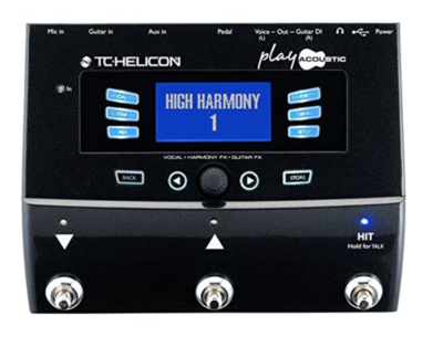 TC HELICON PLAY ACOUSTIC VOCAL/AC GT PROCESSOR