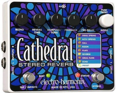 EHX CATHEDRAL DELUXE REV