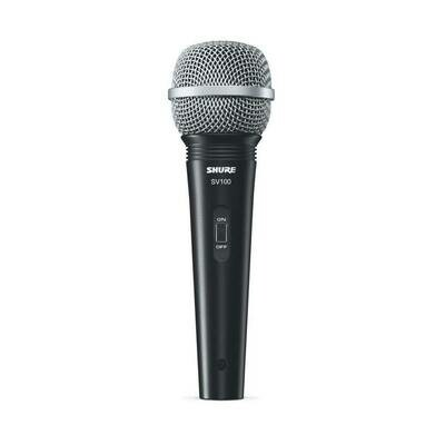 SHURE SV100-A MIC +HOLD+1/4 CABLE+BAG