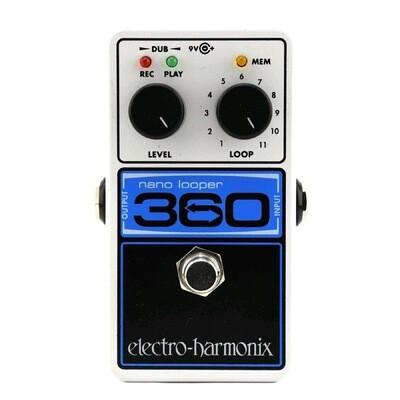 EHX 360L NANO LOOPER w/PSU