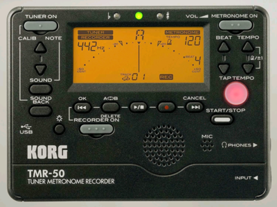 KORG TUNER METRONOME TUNER RECORDER