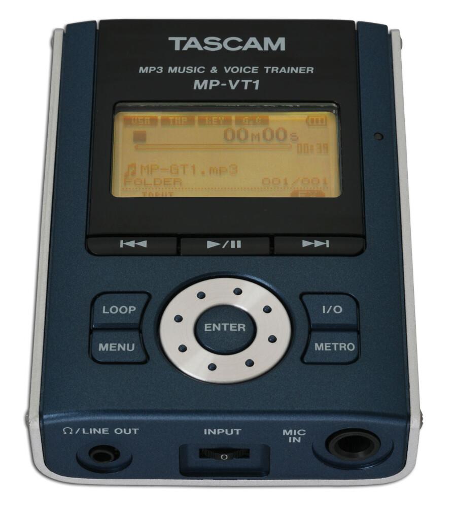 x_ TASCAM MP-VT1 PORTABLE MP3 VOCAL TRAIN