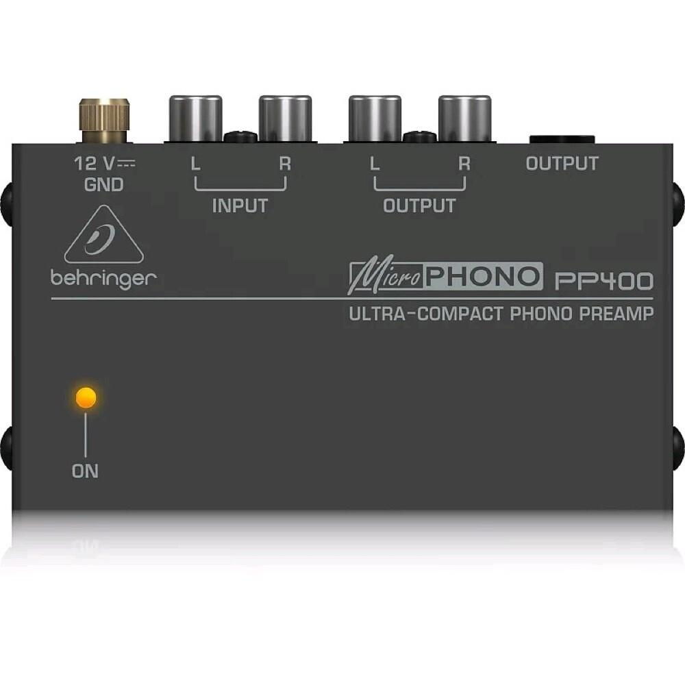 BEHRINGER PP400 PHONO PREAMP