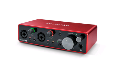 FOCUSRITE SCARLETT-2I2-3RD-GEN 2x2 USB 2.0 Audio Interface