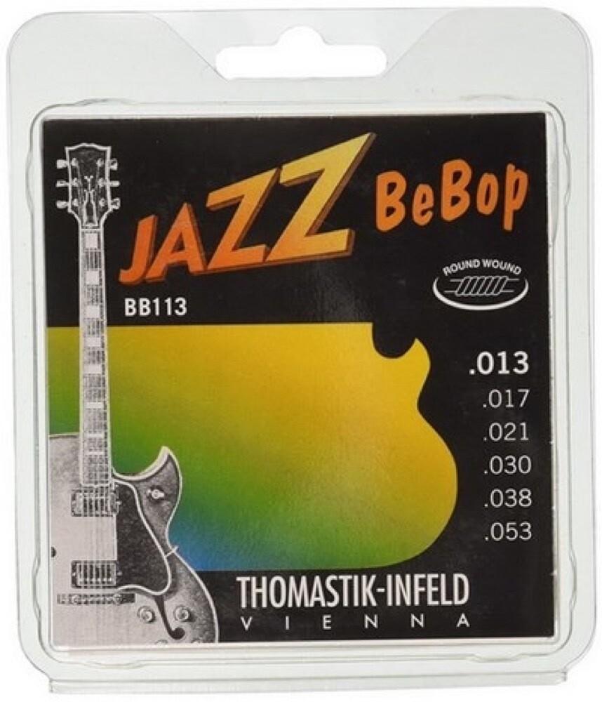THOMASTIK TGBB113 JAZZ BEBOP GUITAR STRING SET 13-53