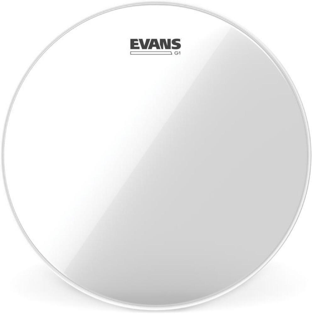 EVANS G1 08'' CLEAR  TOM SINGLE PLY TT08G1