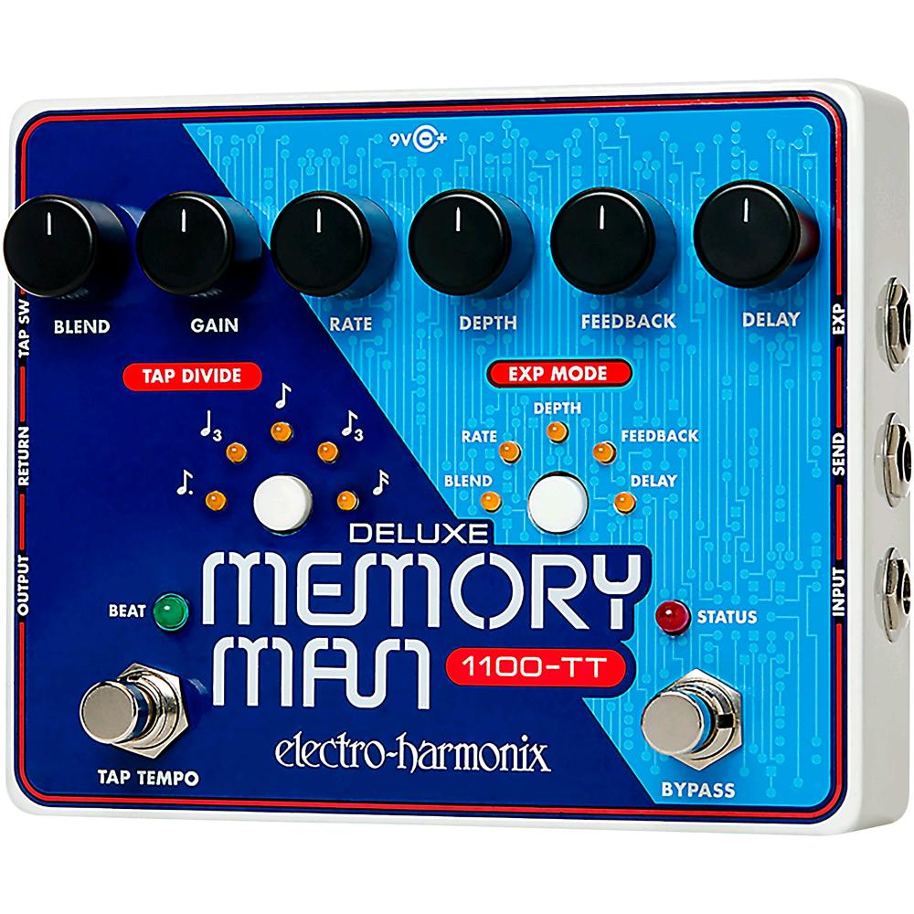 EHX DELUXE MEMORY MAN W/TAP TEMPO (1100 ms)