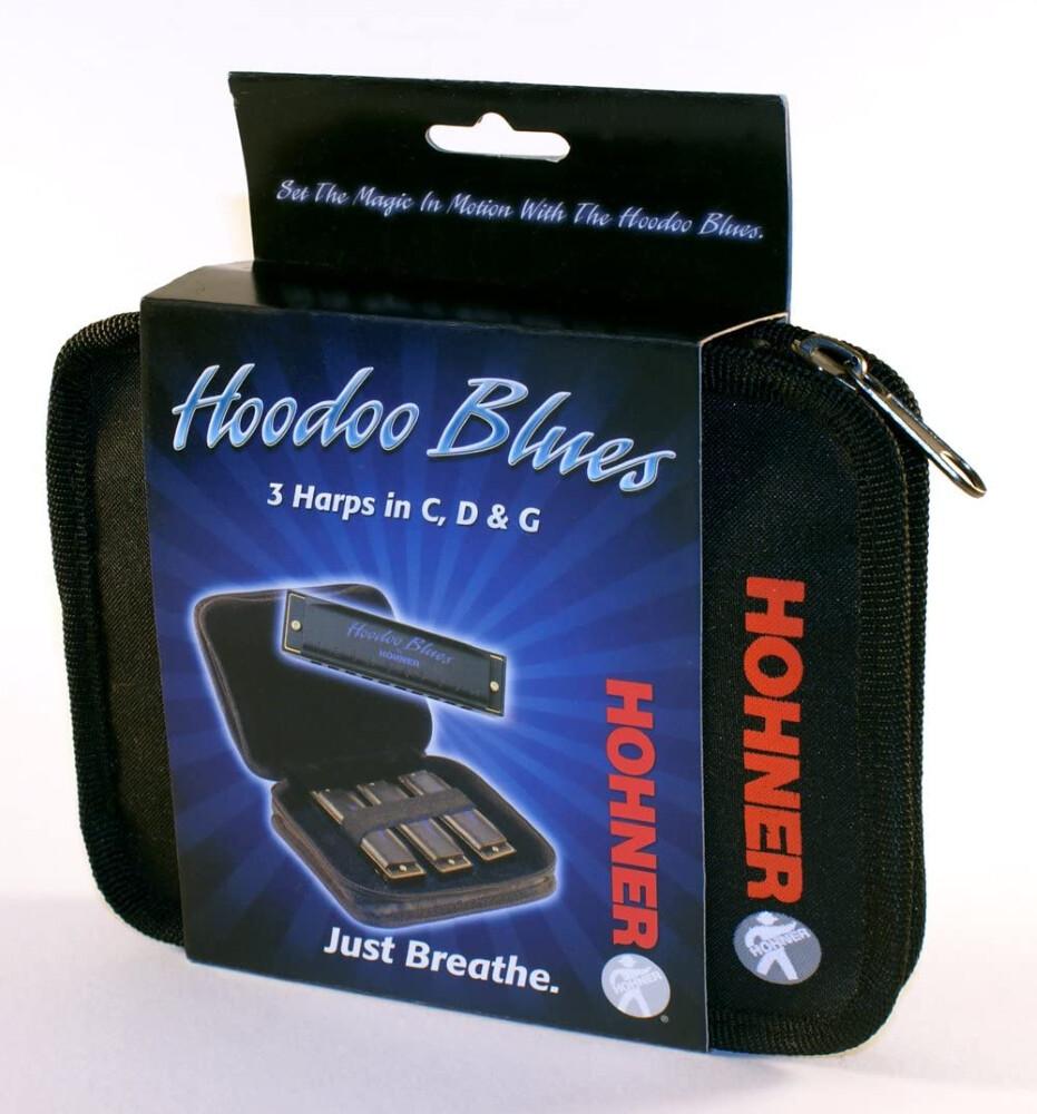 HOHNER HBP HOODOO BLUES KIT C-D-G HARMONICAS w/POUCH