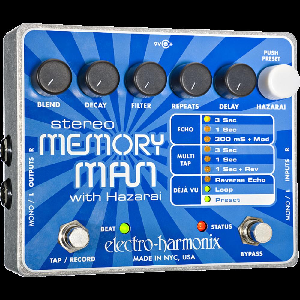EHX ST. MEMORY MAN W/HAZARA