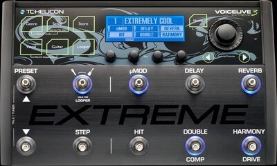 TC HELICON VOICELIVE EXTREME 3 VOCAL/GT PROCESSOR/LOOPER