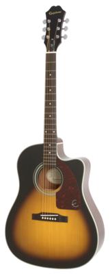 EPIPHONE AJ210CEVSCH AJ-210CE LTD GUITAR OUTFIR /VINTAGE SUNBURST /CASE
