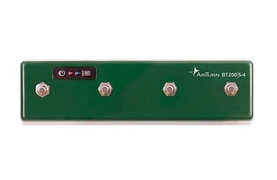 AIRTURN BTS200S-4 BLUETOOTH 4 FOOTSWITCHES CONTROLLER