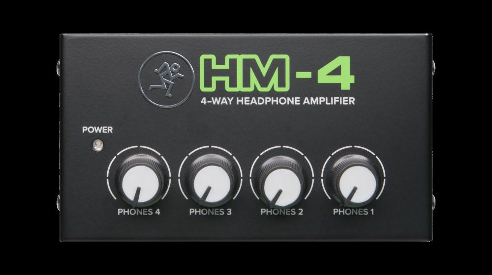 MACKIE HM-4 HEADPHONE AMP 1INPUT 4OUTPUT