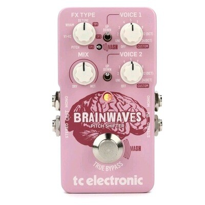 TC ELECTRONIC BRAINWAVES Pitch Shifter with Studio-Grade Algorithms. 4 Octaves