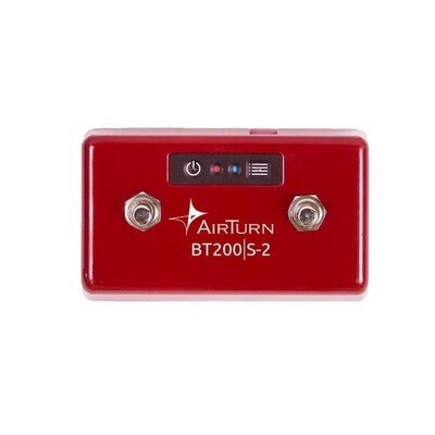 AIRTURN BT200S-2 BLUETOOTH 2 FOOT SWITCHES CONTROLLER