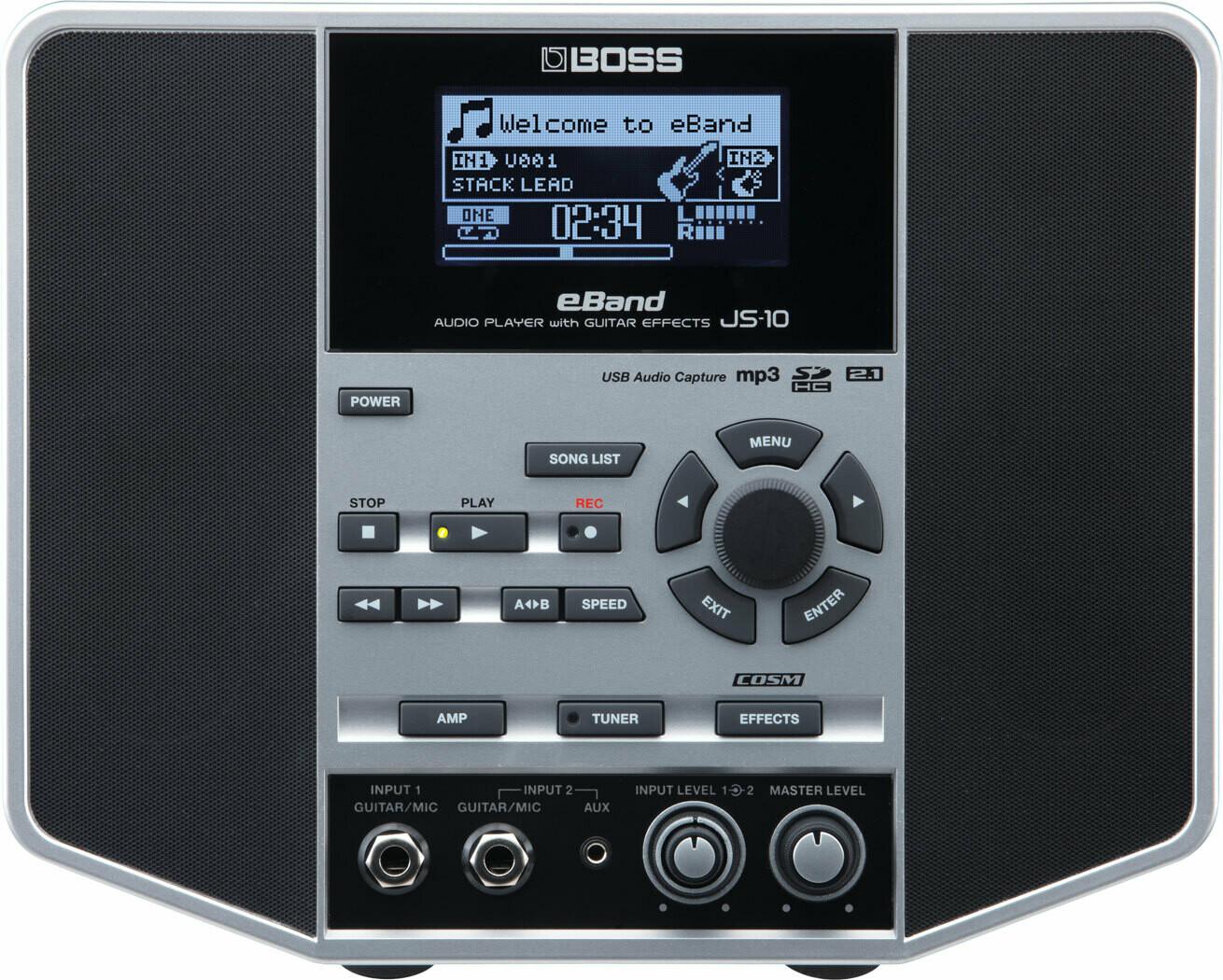 U BOSS JS-10 E-BAND LECTEUR AUDIO AVEC EFFECTS DE GUITARE (usagé)