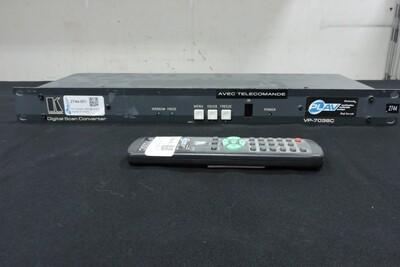 Kramer VP-703SC Convertisseur Ordi à Vidéo avec télécommande (usagé)