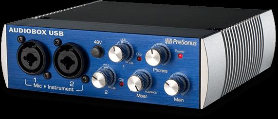 PRESONUS AUDIOBOX96-USB 2X2 RECORDING INTERFACE