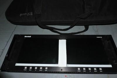Marshall V-R82DP Moniteur Vidéo Double (VGA/DVI) (usagé)