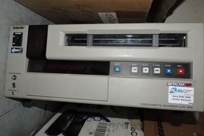 Sony UVW-1800 Lecteur Betacam avec Télécommande (usagé)