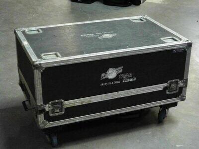 Coffre de transport pour Régie DJ horizontal avec compartiment (usagé)