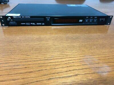Tascam DV-D01U Lecteur DVD HD (usagé)