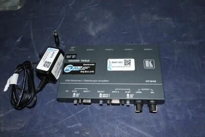 Kramer VP-242 Switcher VGA avec PSU (usagé)