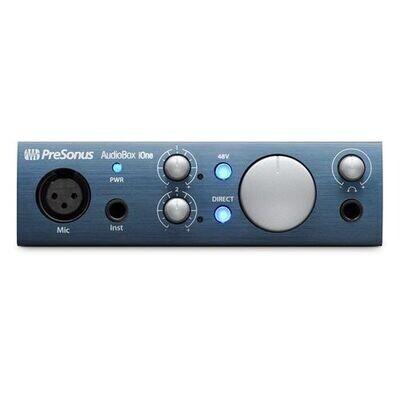 PRESONUS AUDIOBOX iOne 2x2 USB/iPAD RECORDING INTERFACE