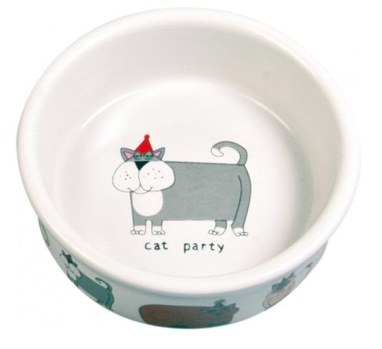 Gamelle céramique cat party
