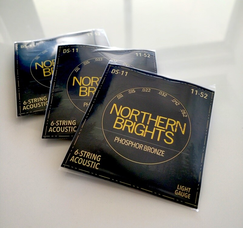 12 Set Case | Northern Brights Premium Guitar Strings