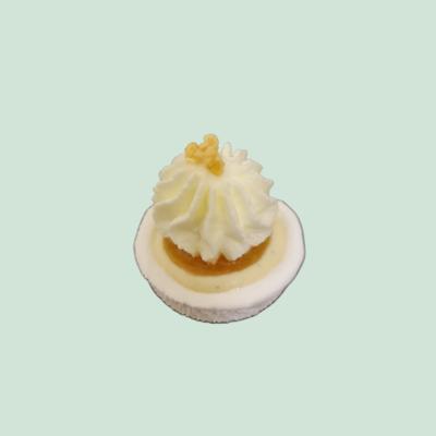 Baby'Meuh'ringue pomme, vanille et caramel