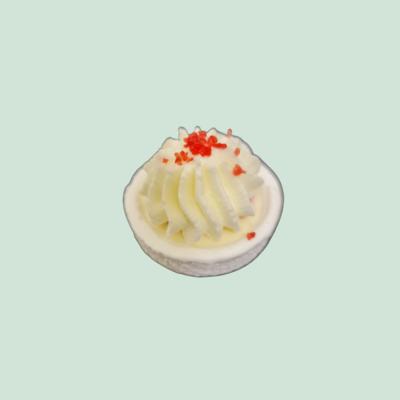Baby'Meuh'ringue double crème et fruits rouges