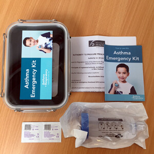 Asthma Emergency Kit - 1 Pack